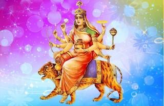 """आज दशैंको चौथो दिन : """" कुष्माण्डा देवीको पूजा गरिँदै """""""