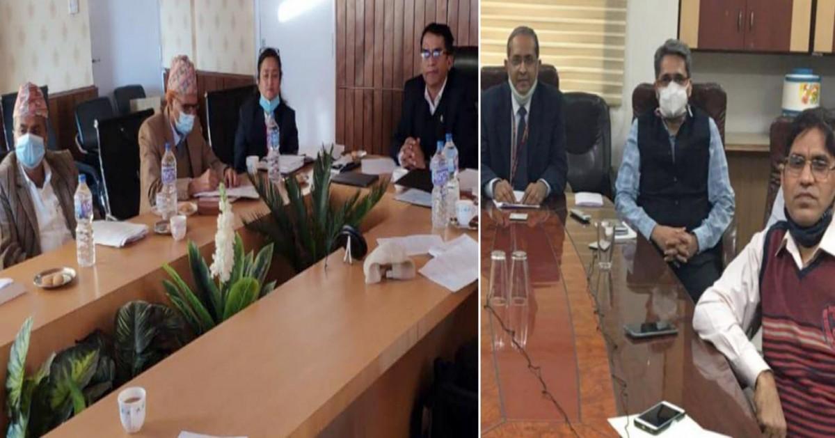 रेलमार्गसम्बन्धी नेपाल-भारत संयुक्त कार्यदलको बैठक, सीमापार दुई रेलमार्गबारे छलफल