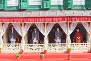 माघशुक्ल पञ्चमी :  'हनुमान ढोकामा राष्ट्रध्यक्षबाट वसन्त श्रवण ' 'फोटो फिचर'