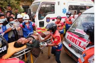 म्यान्मार : 'प्रजातन्त्रवादी प्रदर्शनकारीमाथि गोली , कम्तीमा ३८ प्रदर्शनकारीको मृत्यु '