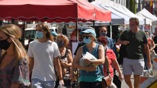 अमेरिका : ' कोभिड–१९ बाट संक्रमित पाँच महिनायताकै सबैभन्दा कम'