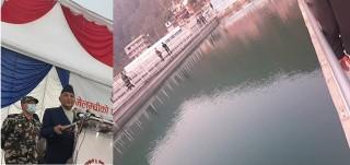 प्रधानमन्त्री ओलीले भने  : 'सुन्दरीजलमा मेलम्चीको पानी,जनताको सपना पूरा '