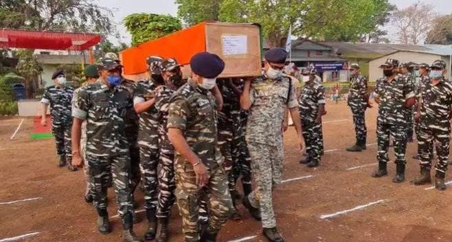 भारत :  'छत्तीसगढमा नक्सलवादीकाे हमला, २२ सुरक्षाकर्मीको हत्या'