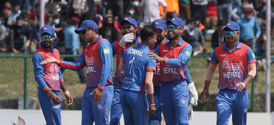 त्रिकोणात्मक टी–२० सिरिज  : 'नेपालकाे मलेसियाविरूद्ध नाै विकेटकाे  जीत'