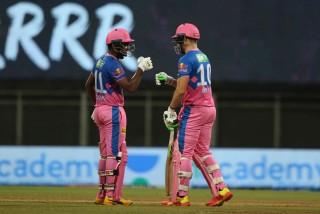 आईपीएल क्रिकेट : 'राजस्थान रोयल्सले कोलकाता नाइट राइडर्सलाई ६ विकेटले हरायाे '