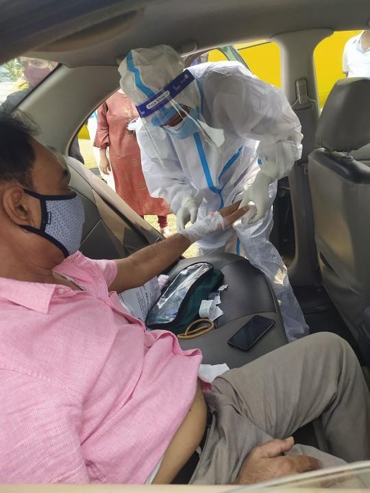 काग्रेस  सभासद् शर्मा : 'स्वास प्रश्वासमा समस्या, उपचारका लागि काठमाडौँ लगियो'