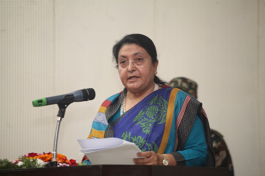 संसद अधिवेशन आह्वान : 'प्रधानमन्त्रीले विश्वासको मत लिने'