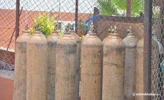 पोखरा :  अक्सिजन बैंक स्थापना