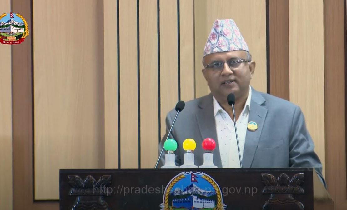 लुम्बिनी  प्रदेश  : बजेट पास गर्न प्रदेश सरकार असफल