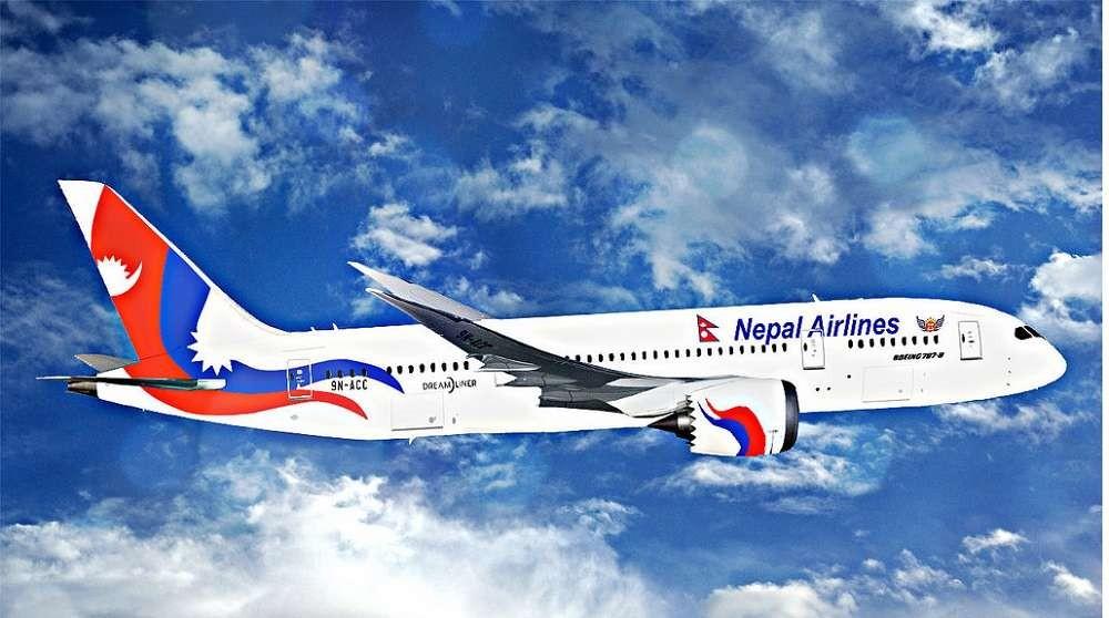 नेपाल एयरलाइन्सको जहाज आज राति बेइजिङ जाने खोप लिन
