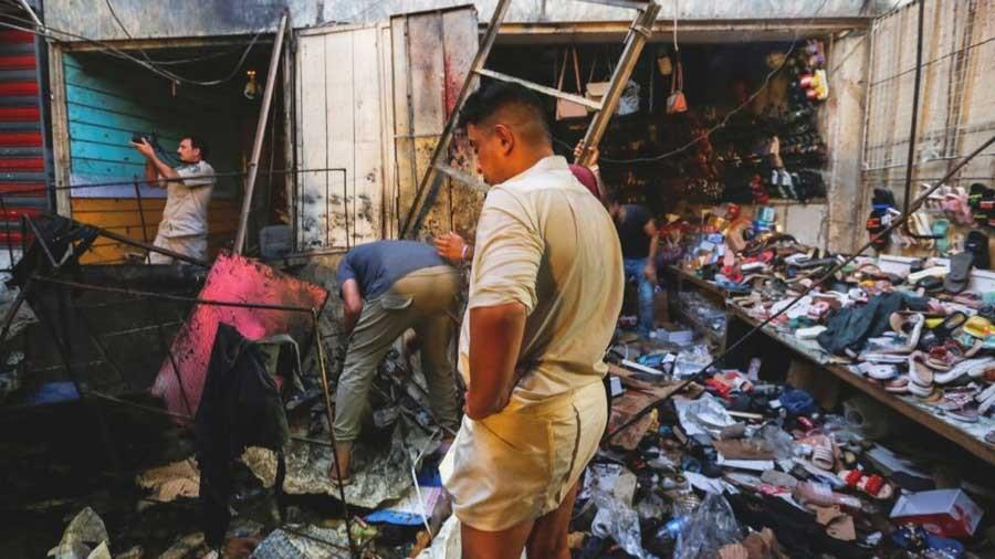 बगदादमा बम विष्फोट, २५ को मृत्यु, दर्जनौं घाइते