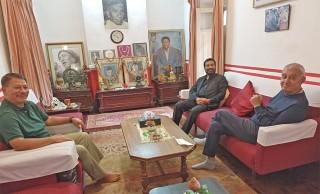 नेपाली कांग्रेस :  'विमलेन्द्र, प्रकाशमान र सशांकले   गरे  भेटवार्ता'