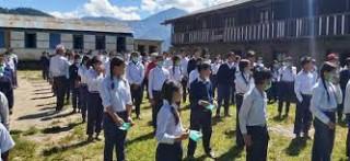 सोलुखुम्बु : 'भौतिक रुपमा पढाई सुरु, विद्यार्थी उत्साहित'