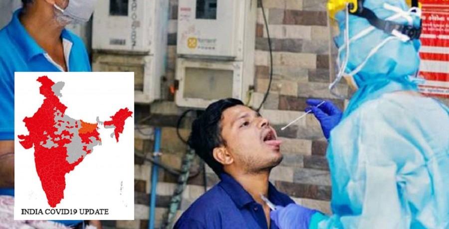 भारतमा दैनिक सङ्क्रमितको सङ्ख्या २५ हजारमा झ¥यो