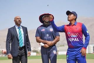 आईसीसी क्रिकेट विश्वकप लिग-२  :  नेपालले आज अमेरिकासँग दोस्रो खेल खेल्दै
