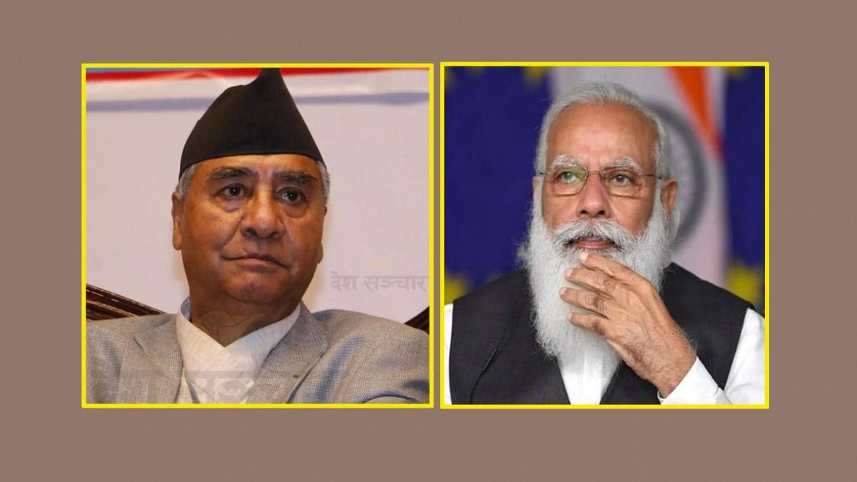 संविधान दिवस  :   'भारतका प्रधानमन्त्रीले दिए  संबिधानको पहिलो  पटक  शुभकामना '