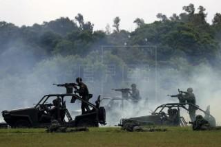 ताइवानमा चीनको खतरा बढ्दै   :  'ताइवानले गर्यो सैन्य अभ्यास'