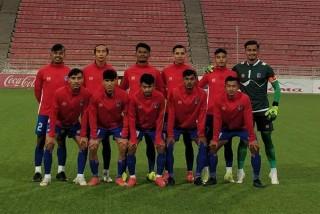 मैत्रीपूर्ण  फुटबल खेल  :  नेपाल इन्डोनेसियासँग पराजित